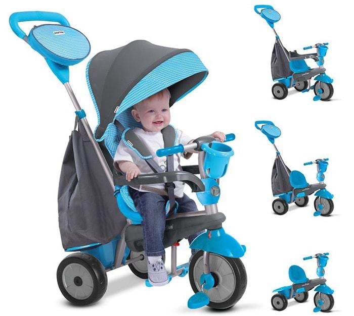 Xe đạp 3 bánh dùng cho bé mấy tuổi 5