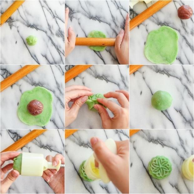 Cách làm vỏ bột mềm mịn trong bánh trung thu