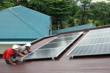 về năng lượng mặt trời phổ biến