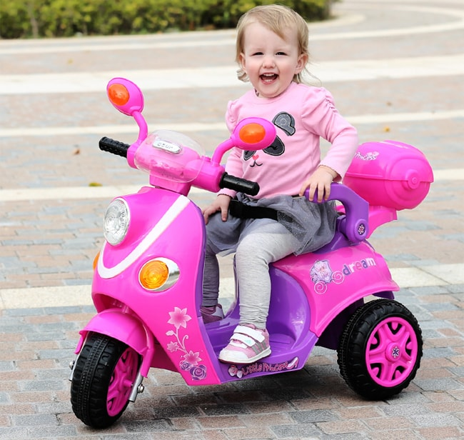 Những điều bạn nên biết về xe máy điện cho bé 1