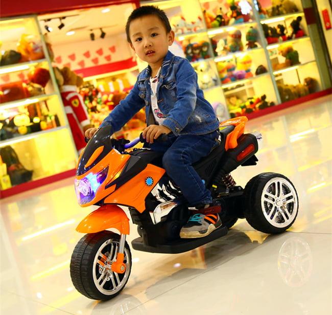 Những điều bạn nên biết về xe máy điện cho bé 2