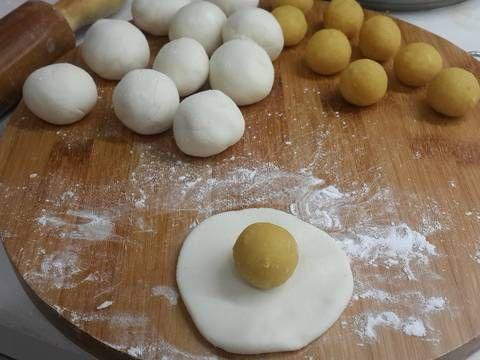 cách làm bánh trung thu không cần lò nướng