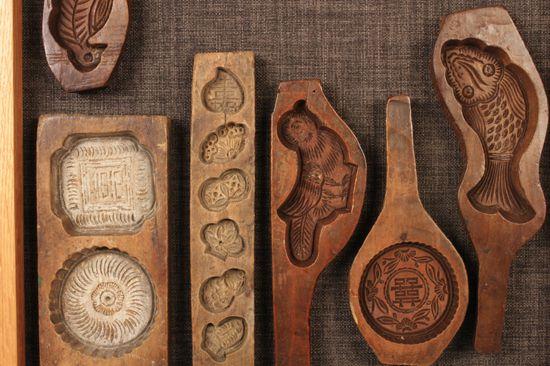 Khuôn làm bánh trung thu hình các loại con vật - Khuôn handmade