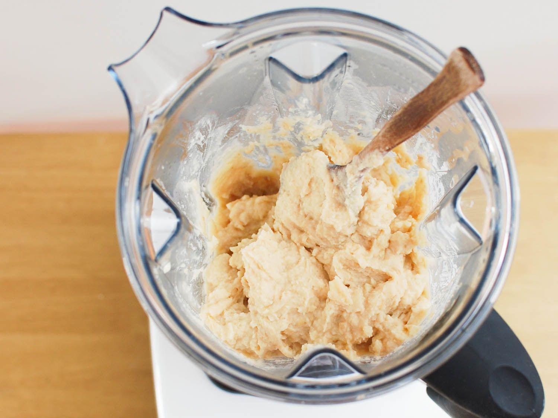 cách xay hạt sen làm bánh trung thu