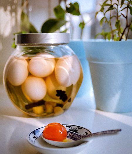 cách làm trứng muối tại nhà