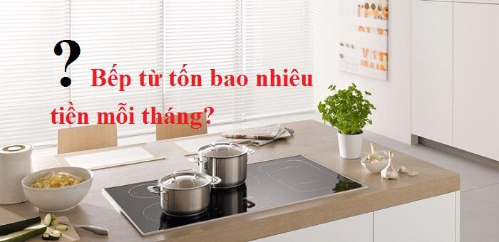 bếp điện tốn bao nhiêu tiền điện mỗi tháng
