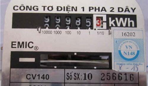 Cách tính tiền điện tiêu thụ mỗi thiết bị
