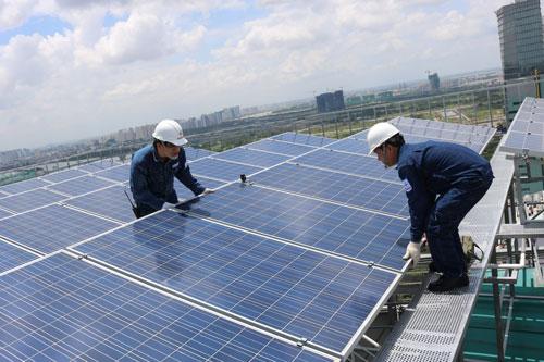 các dịch vụ về năng lượng mặt trời