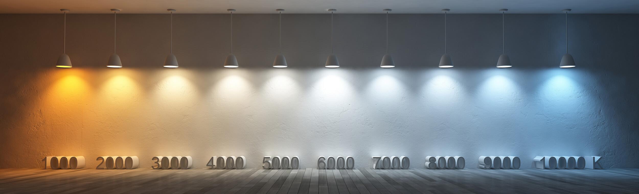 Độ sáng của bóng đèn được tính bằng đơn vị kelvin