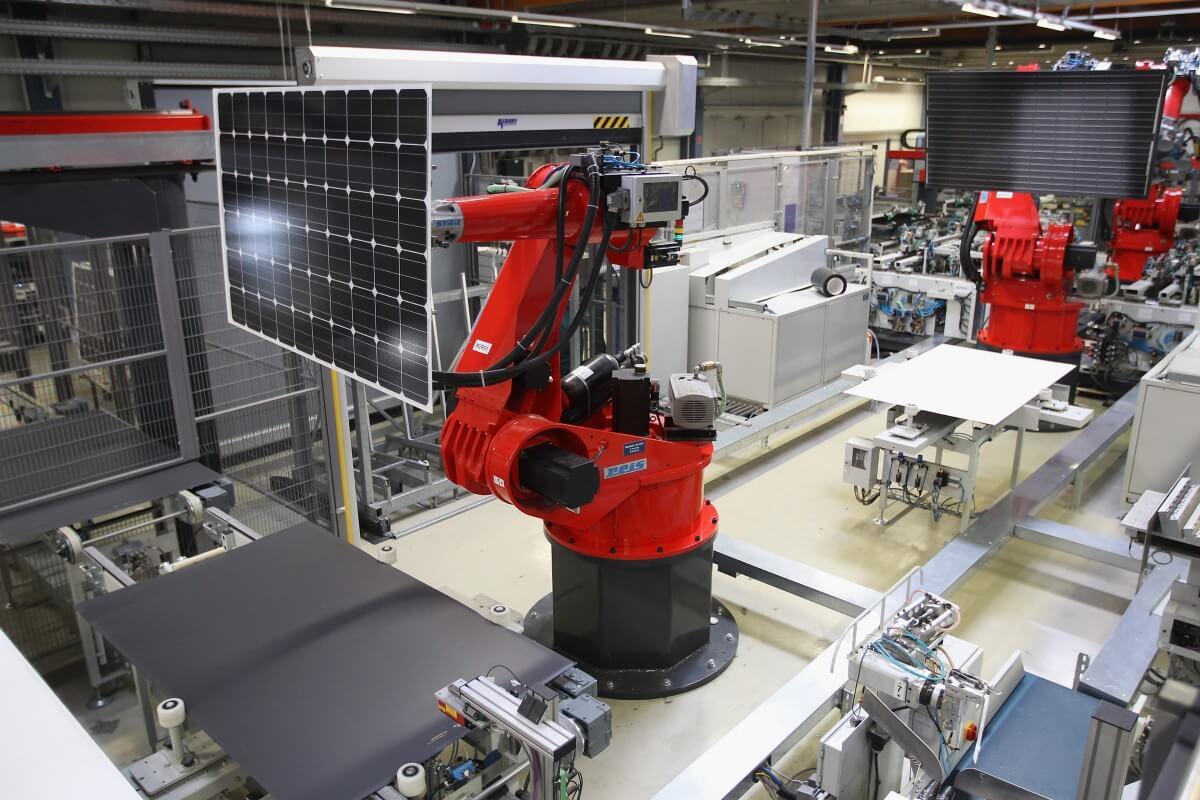 Quy trình sản xuất tấm pin mặt trời