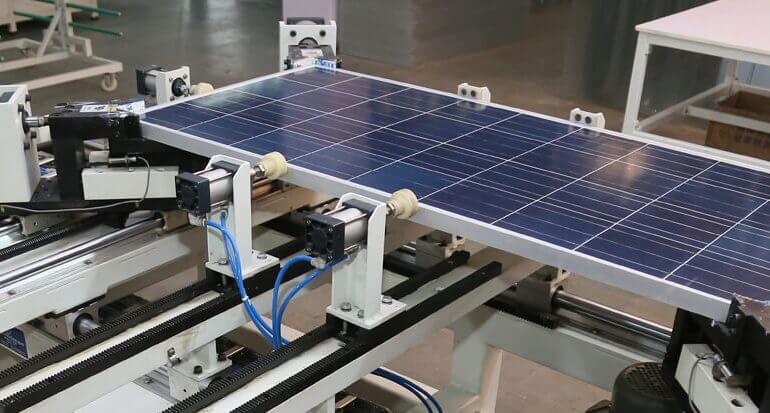 Tấm pin mặt trời sản xuất ở đâu